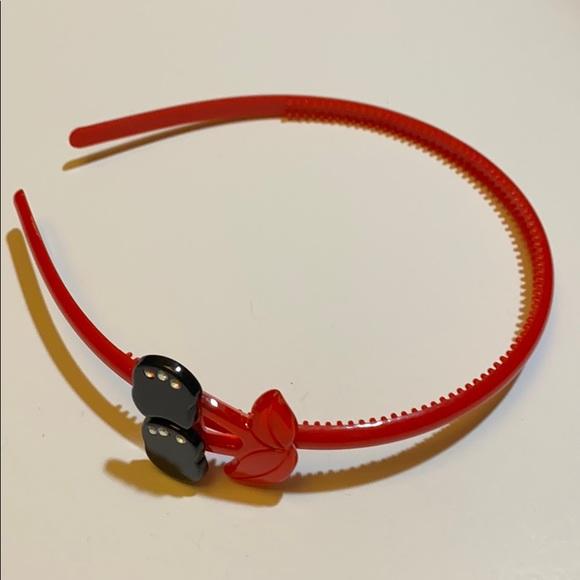 cherry red headband